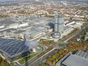 Die Bayrischen Motorenwerke in München